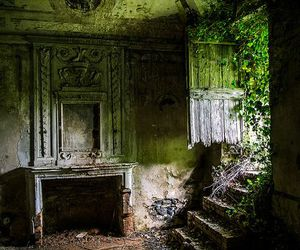 abandoned, green, and decay image