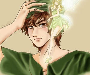 drawing, peter pan, and neverland image