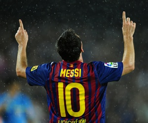 messi, 10, and fcb image
