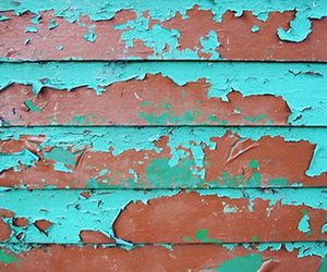 paint and peeling image