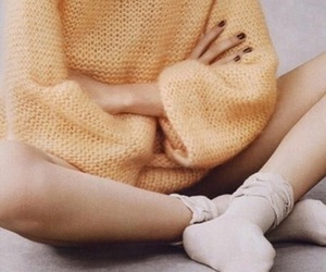 cuddle, fragile, and sweater image