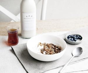 food, breakfast, and milk image