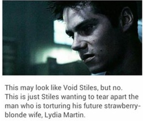 lydia martin and void stiles image