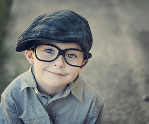 cute, boy, and glasses image