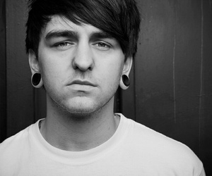 band, black and white, and bring me the horizon image