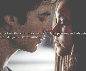 love, elena, and delena image