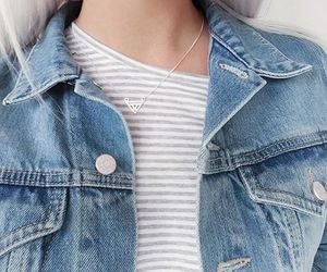 fashion, denim, and tumblr image