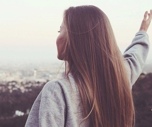 girl, hair, and free image