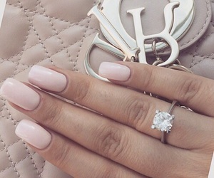 nails, ring, and bag image