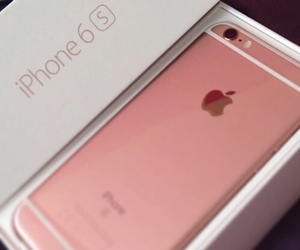 pink, iphone, and iphone 6s image