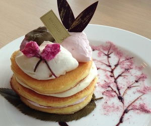 food, japanese, and pancakes image