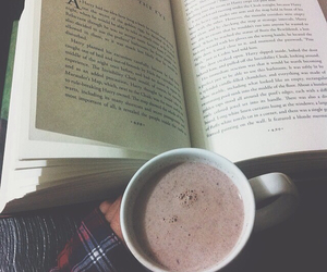 cozy, fall, and hot coco image