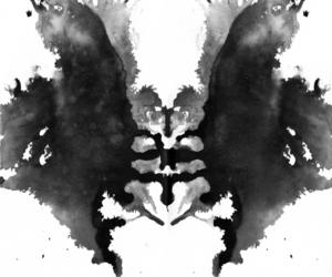 art, colour, and inkblot image