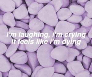 Lyrics, purple, and quotes image
