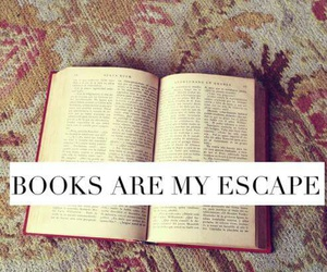book, escape, and love image