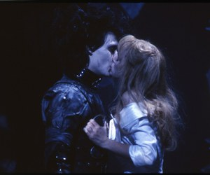 edward scissorhands, kiss, and love image
