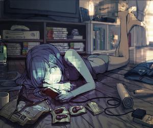 anime and game image