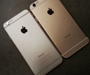 gold, iphone, and expensive image