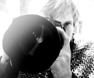 black and white, bradley james, and camera image