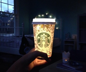 cozy, night, and white girl image