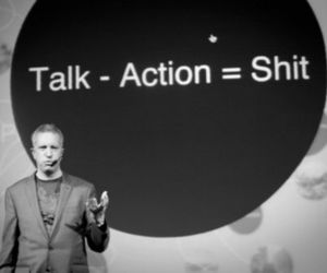 Action, shit, and talk image