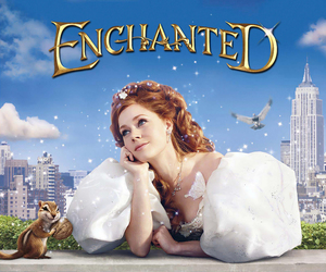 disney and enchanted image