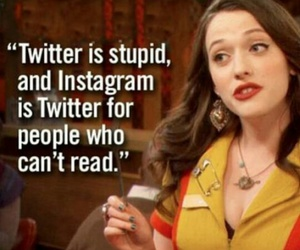 twitter, funny, and 2 broke girls image