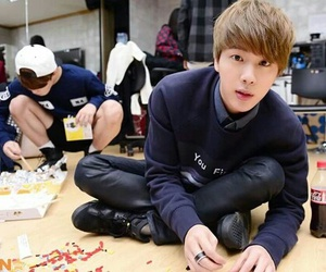 jin, bts, and kpop image