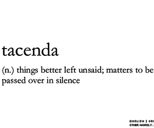 words, quotes, and silence image