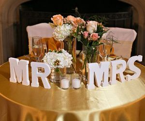 bridal, decoration, and gold image