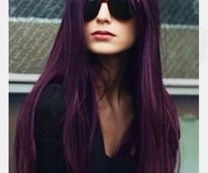burgundy, hair idea, and idea image