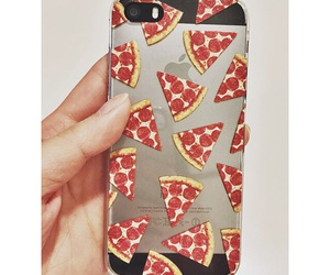 case, iphone, and pizza image