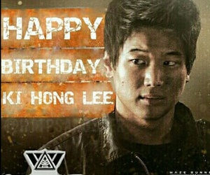 maze runner, ki hong lee, and wicked is good image