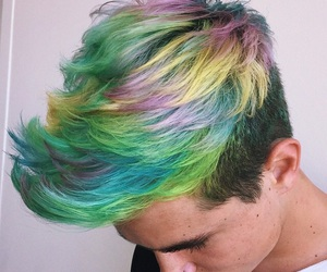 colors, kianlawley, and hair image