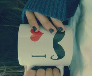 lovely, mustache, and i love mustache image