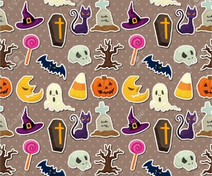 ghost, Halloween, and wallpaper image