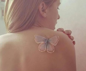 beauty, butterfly, and tiny image