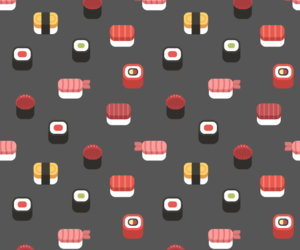 background, kawaii, and pattern image