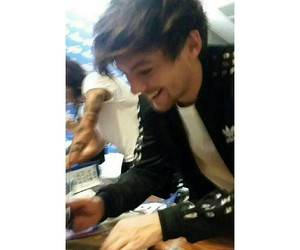 one direction, icon, and louis tomlinson image