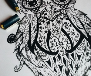 art and zentangle image