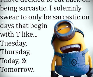 minions, funny pictures, and funny quotes image