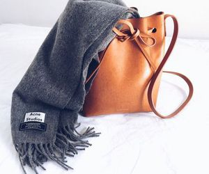 acne, scarf, and style image
