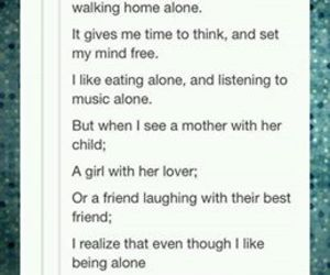 tumblr, alone, and lonely image