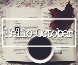 october, autumn, and hello image