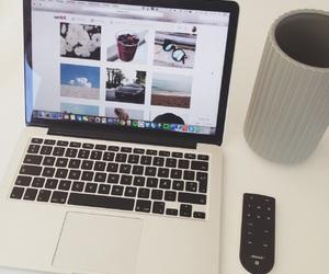 macbook, love, and musik image