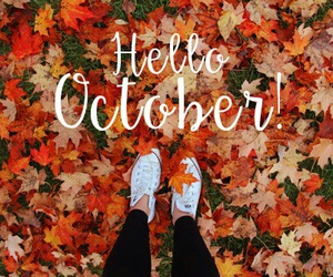 hello and october image