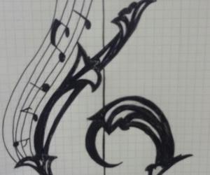 draws and music image