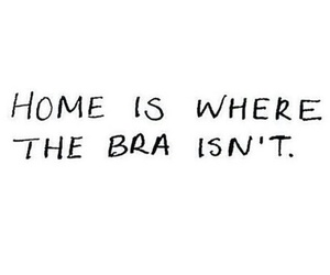 quote, bra, and home image