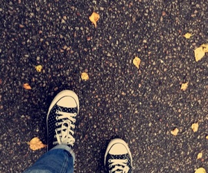 autum, fall, and shoes image