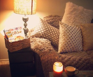 cozy, decor, and fall image